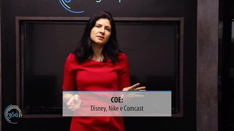 COE Disney, Nike e Comcast