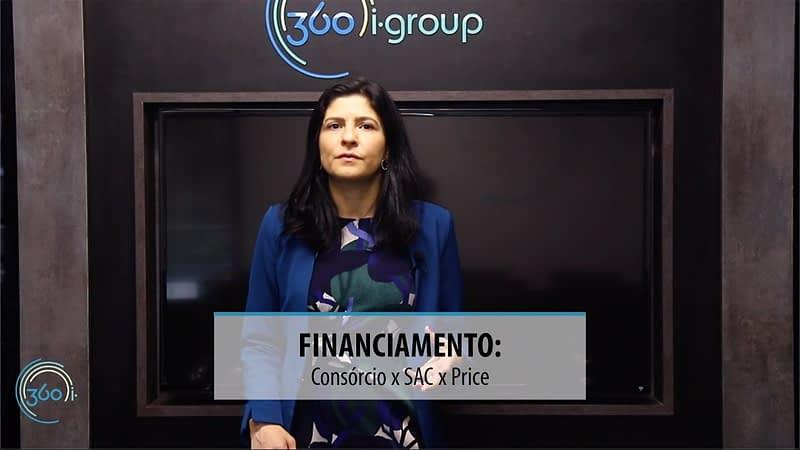 Financiamento- Consórcio x SAC x Price