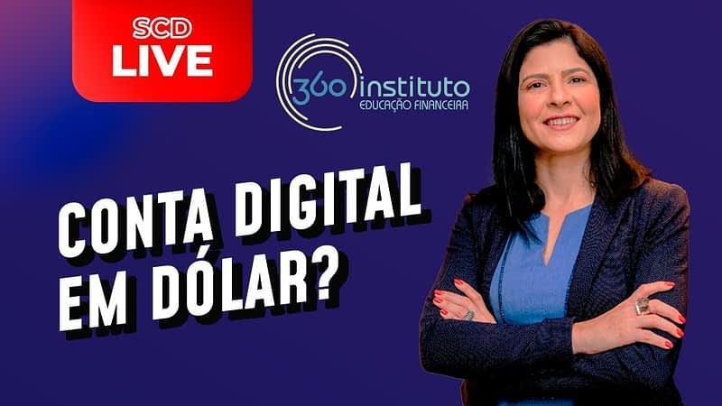 CONTA DIGITAL EM DÓLAR VALE A PENA